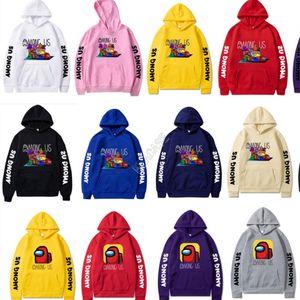 Game Among Us Hoodies Unisex 3D Printed Hooded Sweatshirts Men Women Blouse Sweater Tops Adult Boy Girls Hip Hop Pullover Streetwear D113001