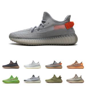 Kanye 350 V2 Sneakers Mens Womens Israfil Flax Carbon Carbon Lundmark Sage 3m Riflettente Cinder Statico Yechiel Beluga crema Scarpe da corsa bianche
