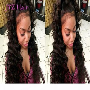 Full Lace Human Hair Wigs Silk Deep Wave Lace Front Wigs Indian Brazilian Malaysian Peruvian Remy Hair Wig With Baby Hair