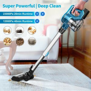 Cordless Vacuum Cleaner 23Kpa 250W Brushless Motor Stick Vacume, Up to 40 Mins R