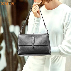 XMESSUN Women Genuine Leather Handbags Fashion New Cowhide Shoulder Messenger Bag Designer High Quality Female Travel Bag K201