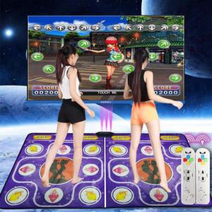 40 # Double User Dance Mats غير زلة الرقص خطوة منصات لعبة اللغة الإنجليزية للكمبيوتر الشخصي تلفزيون مزدوج حصيرة التحكم عن بعد دون بطارية بطانية