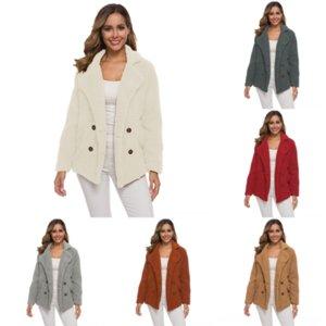 h2mo JAYCOSIN canada jacket woman Woman Winter Coats And Jackets Large Ladies Sizes Lapel Long Sleeve Slim Woolen Coatbreasted