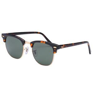 Top Quality Clássico Mulheres Mens Sunglasses Acetate Quadro Masculino Cool Condução Sol Óculos Drividando Óculos Gafas de Sol Shades com Caixa
