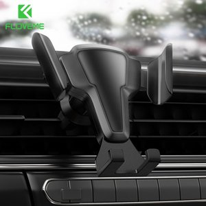 FLOVEME Car Phone Holder For Your Mobile Phone In Car Air Vent Mount Dashboard Holder Stand Accessories