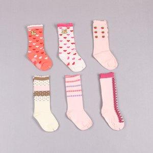 Clearance sale cute girls socks Cartoon Baby Socks Cotton Kids Socks knit knee high sock princess Best Sock Mixed color Z196