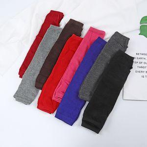 Half Finger Gloves Knitting Driving Protective Sleeves Long Striped Women Fingerless Lovely Mitten Autumn Winter 1 8sm K2