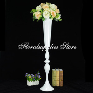 10PCS 35 Inch Tall White Flower Vase Centerpieces for Wedding Centerpiece Vase Table Center Pieces