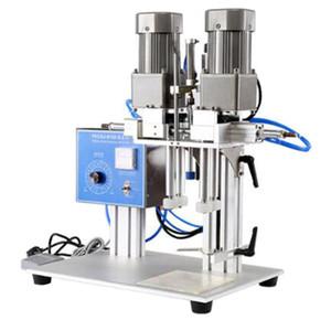 Máquina semi-automática de tapa de botella, máquina de tapeo de tapa de botella de vidrio, Máquina de tapetismo de escritorio, bebida y botella de vino Capping Mach
