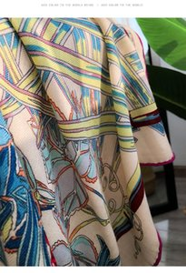 Moda- 30% de seda 70% bufanda de cachemira Moda 140 * 140 elegancia de lujo otoño otoño invierno cuadrado bufanda playa viajar oficina chal