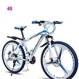 Snow Mountain Bike 24 26 Inches 7 21 24 27 Speed 4.0 Tire High Carbon Steel Frame For Snow Riding Factory sales