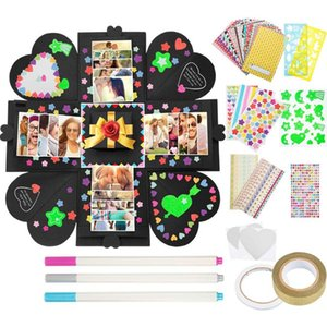 Konesky Surprise Valentine'S Love Explosion Box Gift Explosion For Anniversary Scrapbook DIY Photo Birthday Gift Hot 1Pc
