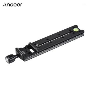 Andoer FNR-200 ترايبود الإفراج السريع لوحة 200mm / 140mm / 100 ملليمتر ترايبود العقد الشريحة السكك الحديدية ل Arca الفوتوغرافي السويسرية الملحقات 1
