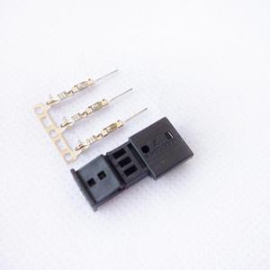 Biurlink Car Gateway 3Pin Port Terminals AUX Cable Connector for E39 E46 E38 E53 16:9 Navigation1