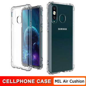 For Samsung S20 Note 20 Ultra TPU Transparent Cases Note 10 10 Pro 9 8 S10 S10E Lite S10 Plus S9 S9 Plus Air Cushion Back Cover Cases