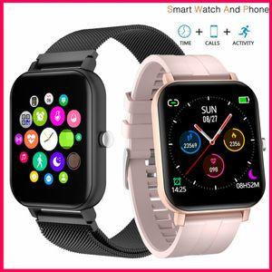 Bluetooth Call Smart Watch 6 Men Full Touch Screen Blood Pressure Smartwatch Women Heart Rate Monitor Fitness Tracker Sport Apple Watch Band