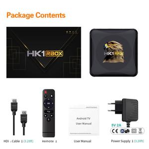 Android 10.0 TV BOX HK1 RBOX R1 MINI Rockchip RK3318 4GB 64GB 2.4G&5G Dual WIFI DLNA SMART 4K