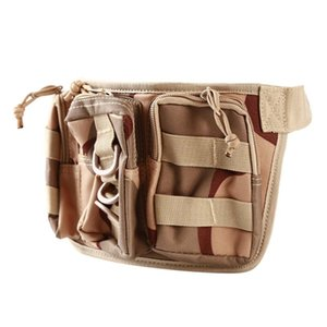 Camping Hiking Bags With Belt Outdoor Tactical Bag Utility Tactical Waist Pack Pouch Backpack Bag Equipment