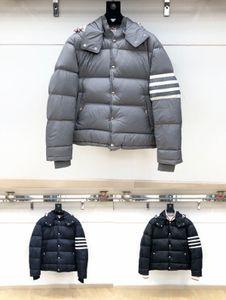 Женская гусь зимняя куртка на молнии на молнии на открытом воздухе мода теплая мода с капюшоном белый гусей вниз толстого пуховой куртки мужские зимние пальто