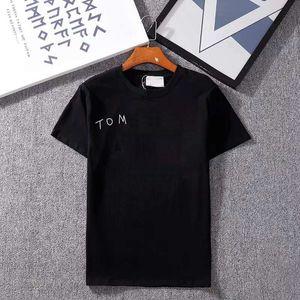 20ss Mektuplar Baskılı Tasarımcı T Gömlek Erkekler Için Yaz Tee Gömlek Moda Kadın Ekip Boyun Kısa Kollu Giysiler Asya Boyutu S-XXL