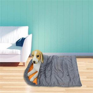 Pet Dog Sleeping Bag Waterproof Pet Mat Blanket Soft Fleece Cushion Mattress For Small Large Dogs With Storage Mat