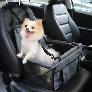 Car Seat Bag Travel Dog Car Seat Cover Accessories Mesh Hanging Bags Folding Pet Supplies Waterproof Dog Mat Blanket Safety Pet