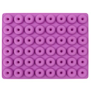 DIY Donut Maker 48 holes Non-Stick Baking Pastry Cookie Chocolate Mold Muffin Cake Baking Mould Dessert Decorating Tools GWA3313