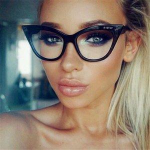Guangdu Classic Fashion 2020 ultraligero gato gato gafas de sol mujeres diseñador de marca gafas transparentes gafas de marco grandes y pequeñas1