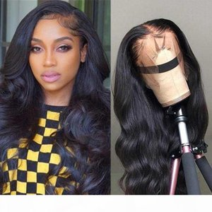 Body Wave Wig Remy Hair 13x6 Lace Front Wig Peruvian Human Hair Wigs Pre Plucked For Women Swiss Lace 5x5 Closure