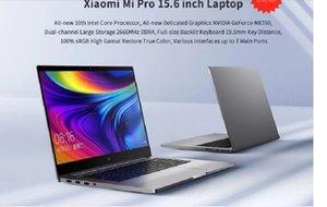 "Notebook original de Xiaomi MI Laptop 15.6 ""PRO mejorado I7-10510U 16GB RAM 1TB SSD 100% SRGB Ultra Slim FHD Pantalla MX350"