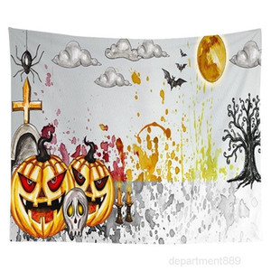 AAA-Tapestry 150*130cm 150*150cm150*200cm Short Plush Hanging Wall Tapestries Halloween Christmas Home Decoration DHA618