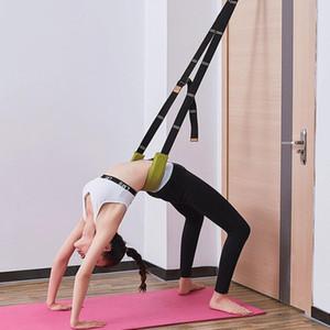 Bandas de resistência na porta Um cavalo dividido Press Hospturing Stretch Yoga Acessórios Dança Soft Open Back Back Trainer