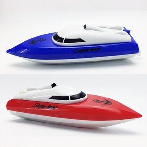 Juguetes para niños Mini Radio RC Rac Racing Boat Speed Toys Toys For Niños Regalo Juguete Simulación Control Remoto Modelo Modelo Diseño 201204