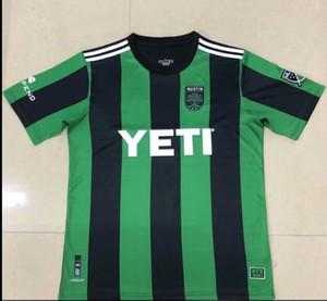 Yeni Inaugural Austin FC Futbol Formaları 2021 2022 MLS Ev Kiti Siyah Yeşil 21 22 Futbol Gömlek Camisetas de Fútbol Maillot De Foot Tayland
