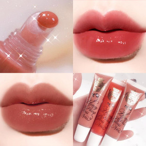 Lip Hydrating 12 Colors Roll-On Fruit Lip Oil Moisturizing Mirror Gloss Transparent Lipstick Primer Mineral Oil