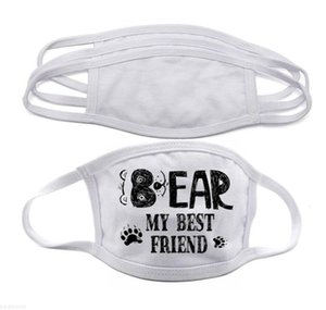 Subegação de calor DIY Double Prevenção Adults Stock em Frete Blanks Máscara de máscara de poeira para FY9202 Transferência de rosto Imprimir DHL Layers Free Ki DMXN