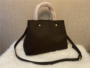 Canal Ladies Red de alta calidad Cuero rojo Messenger Bag Bolso Bolso de hombro Bolso Bolso Bolso Bolso