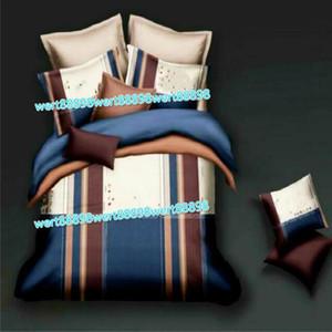Neue schlanke minimalistische Kind Erwachsene Bettwäsche Set von vier Aloe Vera Baumwolle chemische Faser Komfortable Druck Bettwäsche vier Sätze 23015