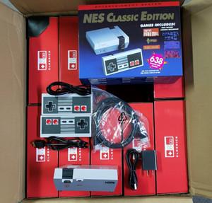 JUEGOS CLÁSICOS Video TV Video Console Handheld Games System Games para 638 New Edition Model Nes Dos teclas Controller Game Jugador