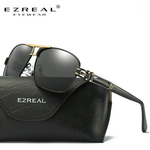 Ezreal Nouvelle Arrivée Sunglasses polarisées Hommes Marque Designer Les yeux de la mode protègent des lunettes de soleil avec une boîte Ezreal Gafas de Sol A3771