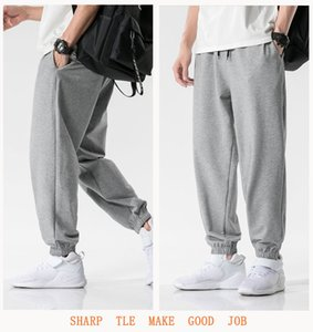 Men Sport Trousers Men Women Active Jogging Pants Boy Hip-hop Sweatpants Neutral High Quality New Fashion 2021 Spring Autumn Hot Street