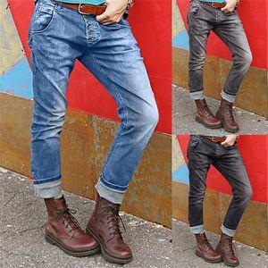 Women Mid Waisted Streetwear Skim Fit Denim Pocket Stretch Button Bell-bottom Pants Jeans Plus Size