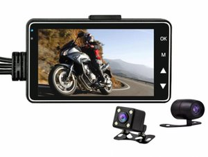 Cross-border Explosive Motorcycle Driving Recorder Motorcycle Recorder Front and Rear Dual Cameras Dual Recording Hidden Car DVR
