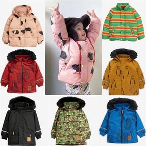 Chicos abrigos Chaqueta de invierno MR Niños Penguin abajo abrigo Ropa de Navidad LJ201120