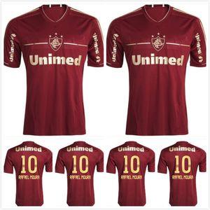 2011 2012 FLUMINENSE Retro Fútbol Jersey 11 12 DECO LANZINI RAFAEL SOBIS THIAGO Neves Fred Vintage Classic Football Shirt