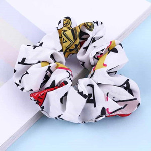 Hot sale Charm Fashion Letter Women Hair Rings Vintage Yoga Lady Headband Female Hair Rubber Bands Elastic Hair Band Accessories party gift