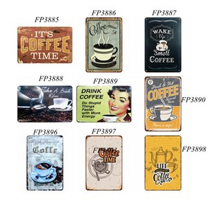 Art Sticker Iron Painting Metal Tin Retro Wall Plaque Sign Paints Home Restaurant Decoration Pub Signs Wall Decor Support Customized DHA2796