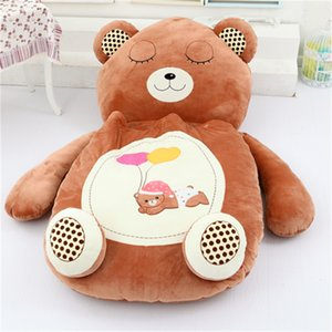 [Funny] cute cartoon Sleeping Bag soft animal Cat Frog Monkey Bear Bed Carpet Tatami Sofa mat Beanbag plush toy kids gift