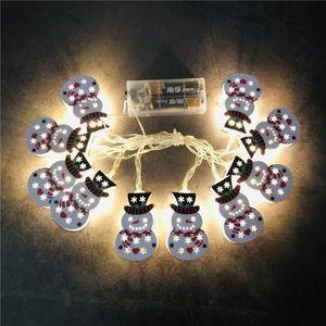String Cartoon Xmas Motif 1.65m 10 LED 3m 20 LED Christmas Outdoor Light Decoration DHE2272