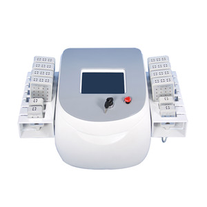 650nm 980nm dual lipo laser slimming machine weight loss with 8 big pads and 4 small pads